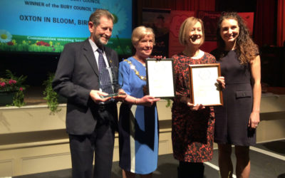 Oxton sweeps the board – the RHS's Britain in Bloom awards