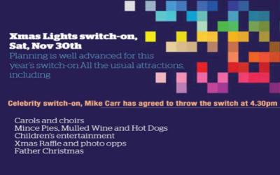 Xmas Lights Switch-on, Sat, 30 Nov