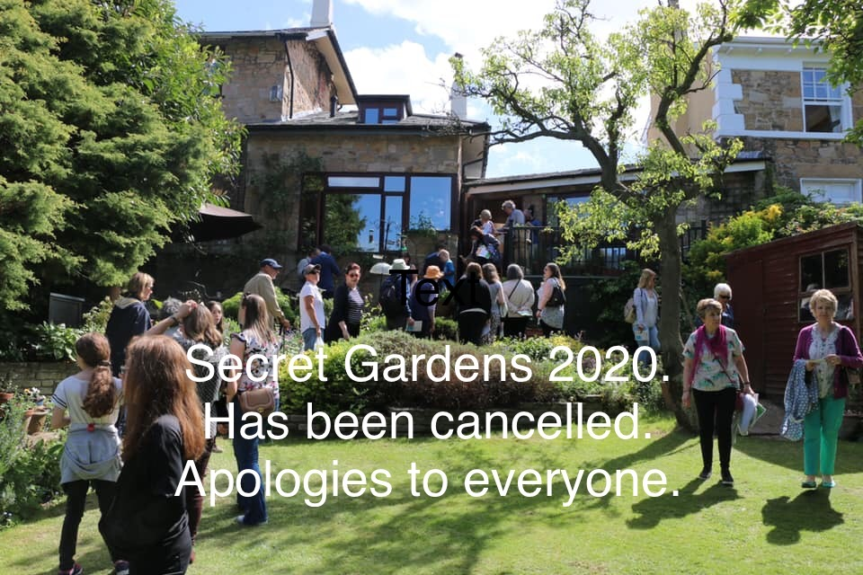 Secret Gardens Event Cancellation
