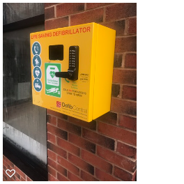 Oxton's new Defibrillator