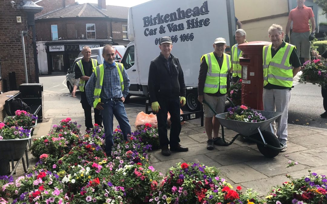 Hanging Baskets – welcome back